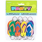 Flip Flop Key Chains - Pack of 12