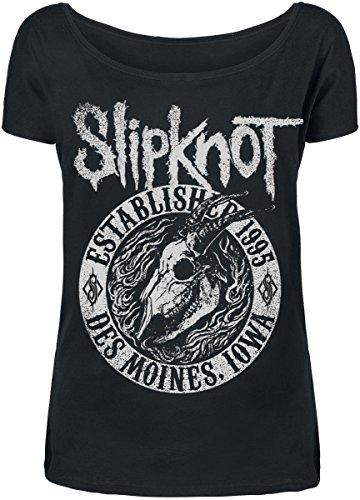 Slipknot Flaming Goat Maglia donna nero L