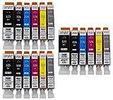 BCI-326+325/6MP 6色セット×3パック 合計18個 canon キャノン 互換インク ICチップ付き 残量表示可 [ZAZブランドオリジナル] [ FFPパッケージ(O)]