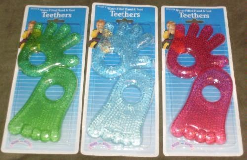 Hand and Foot Teethers