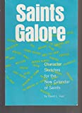 img - for Saints Galore (Large Print Edition) book / textbook / text book
