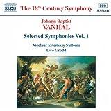 Vanhal: Symphonies, Vol. 1