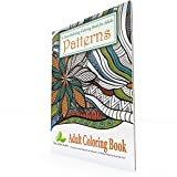 Stress-Relieving-Adult-Coloring-Book-with-Patterns-Mandalas-for-Relaxation-Anti-Stress-Adult-Coloring-Books-Best-Sellers-Series-Paperback
