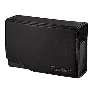 CANON DCC-1500 Etui souple en cuir pour PowerShot SX230 HS/PowerShot SX220 HS/600HS/ PowerShot SX210 IS Noir