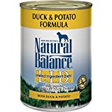 Natural Balance Limited Ingredient Diets Duck Potato Canned Dog Food, Pack of 12 cans