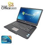 【Microsoft Office 2010搭載】【Win 7搭載】NEC VY22G/X-A/新世代Core i3 2.26GHz/メモリ4GB/HDD160GB/大画面15.6インチ/無線LAN搭載/中古ノートパソコン ランキングお取り寄せ