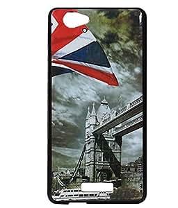London Bridge Exclusive Rubberised Back Case Cover For Gionee Marathon M3/ M 3