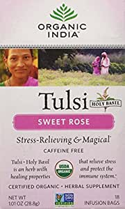 Tulsi Tea Sweet Rose 18 Bags 1.01 OZ