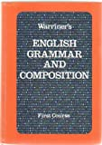 Warriner's English Grammar and Composition: First Course (0153118008) by Warriner, John E.