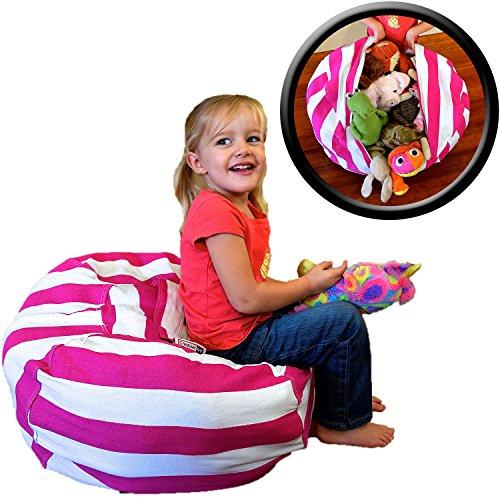 Stuffed Animal Storage Bean Bag Chair