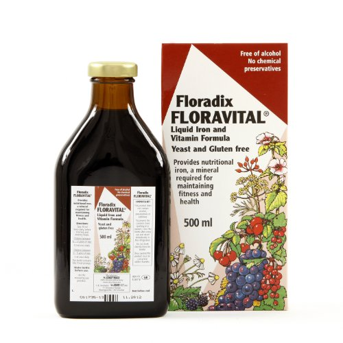 Floravital Iron Vitamin Formula Liquid 500ml
