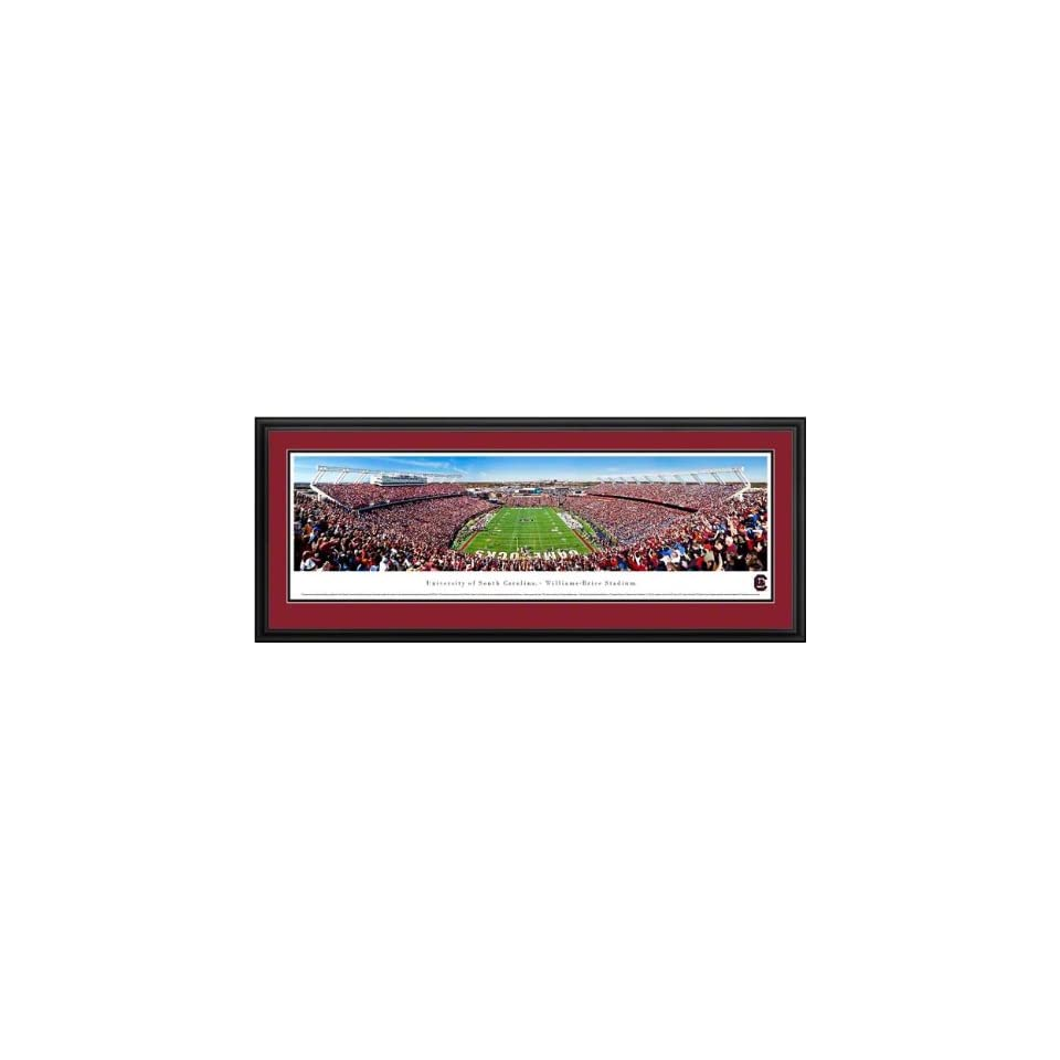 South Carolina Gamecocks   Williams Brice Stadium   End Zone   Framed Poster Print
