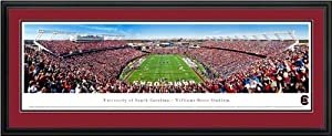 South Carolina Gamecocks - Williams-Brice Stadium - End Zone - Framed Poster Print by Laminated Visuals
