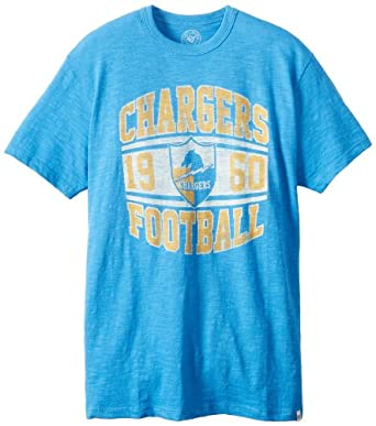 NFL San Diego Chargers Retro Logo Legacy Scrum Tee by