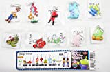 Set of 10 Pieces Disney Pixar Collectible Figures Charms