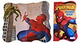 Spiderman Board Book - 4 Piece + Bonus - Great Set of Books for Toddlers - Superhero Books for Kids