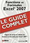 Excel 2007 : Fonctions et Formules