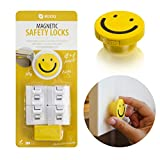 Magnetic-Baby-Safety-Cabinet-Locks-no-Tools-or-Screws-Needed-4-Locks-and-1-Key