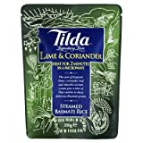 Tilda Steamed Basmati Lime and Coriander Rice 250g