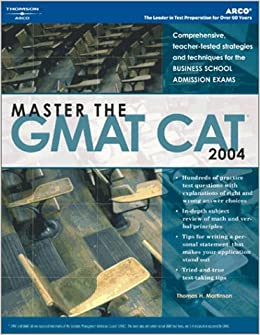 arco gmat essay guide