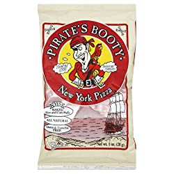 Pirate's Booty, New York Pizza, 1-Ounce Bags (Pack of 24)