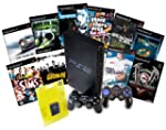 PS2 Console & 10 Game Bundle with Con...