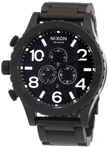 Nixon Men's Quartz Chronograph Watch 1001 A083