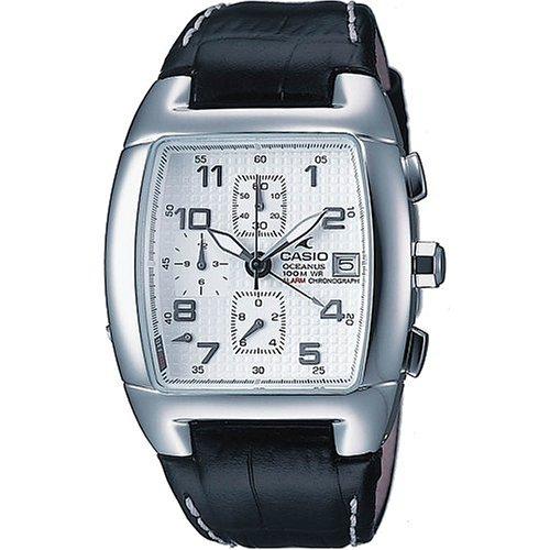 Casio Mens Oceanus White Analog Watch OC502L-7AV