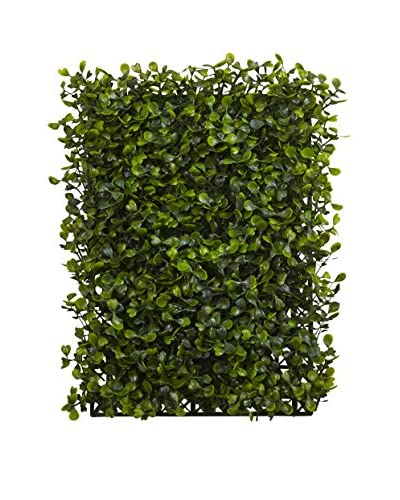 Nearly Natural Set of 12 Boxwood Mats