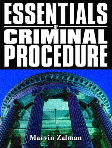 Essentials of Criminal Procedure