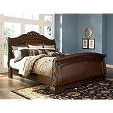 Ashley North Shore 6/6 King Sleigh Bed B553 ...best seller