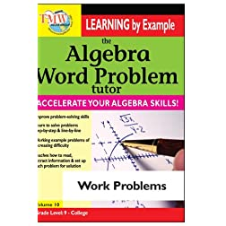 Algebra Word Problem: Work Problems