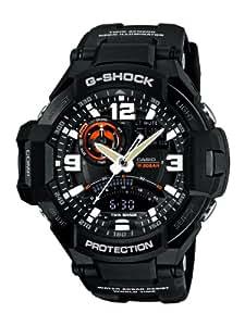Casio Herren-Armbanduhr XL G-Shock Superior Series Chronograph Quarz Resin GA-1000-1AER