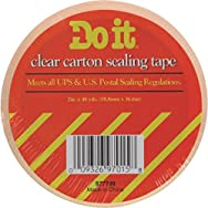 Do it Package Sealing Tape-1.88X54.6YD H/D CLR TAPE