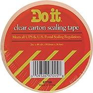 Do it Package Sealing Tape-1.88X54.6YD H/D CLR TAPE