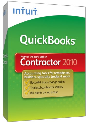 Quickbooks Premier Contractor 2010 [Old Version]