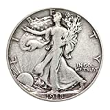 Walking Liberty Half Dollar XF/VF 90% Silver Extra Fine Half Dollar Very Fine