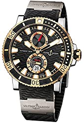 Ulysse Nardin Maxi Marine Diver Titanium and 18kt Yellow Gold Mens Watch 265-90-3T-92