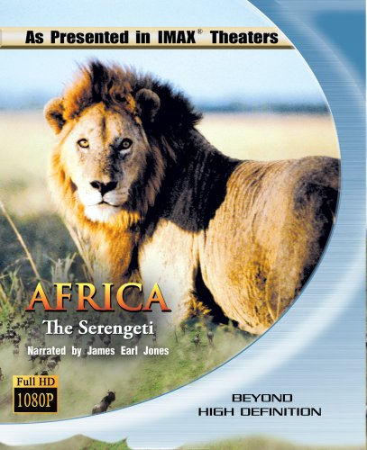 Cover art for  Africa: The Serengeti (IMAX) [Blu-ray]