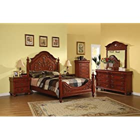 cherry wood bedroom sets