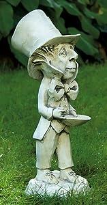 Mad Hatter Garden Statue