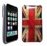 Retro Union Jack Design Hard Skin Back Case Cover Hardcase For iPhone 3 3G 3GS