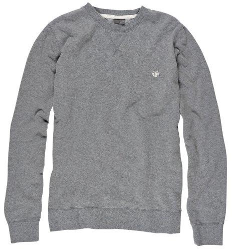 Element Men's Cornell CR Crew Neck Sweatshirt - Grey Heather (Medium)