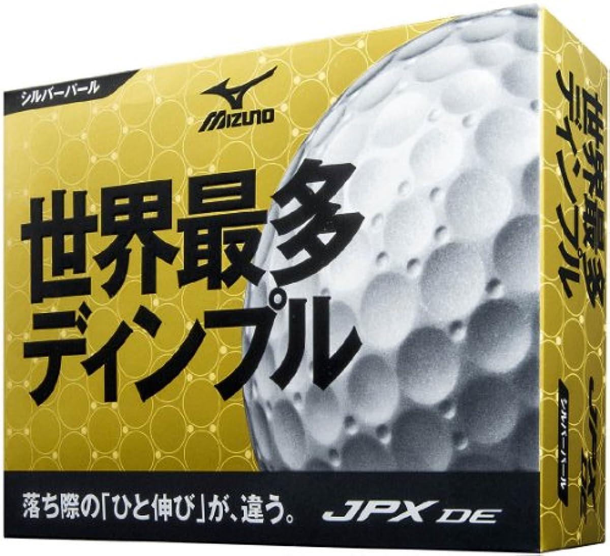 [해외] MIZUNO(미즈노) 골프 볼 JPX DE 실버 펄 1다스 12개 들이 5NJBM7441012P (2014-04-18)