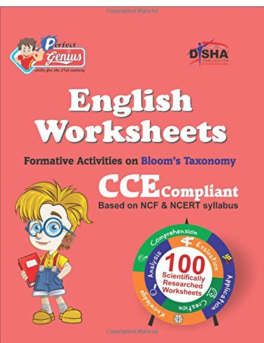 Perfect Genius English Worksheets for Class -  3: Based on Bloom's Taxonomy