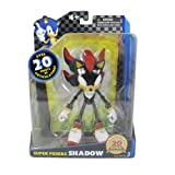 Sonic The Hedgehog 6-inch Shadow Super Poser Action Figure