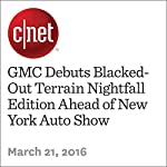 GMC Debuts Blacked-Out Terrain Nightfall Edition Ahead of New York Auto Show | Jon Wong