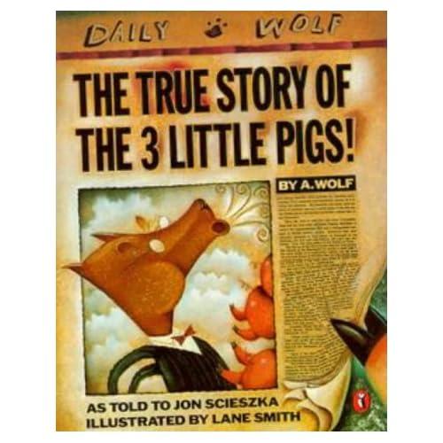 Three Little Pigs   Scieszka  Jon The True Story of the 3 Little PigsThree Little Pigs Story Online