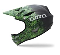 Giro Remedy CF Mountain Full-Face Bike Helmet (Bright Green Evil/Carbon Fade, Small)