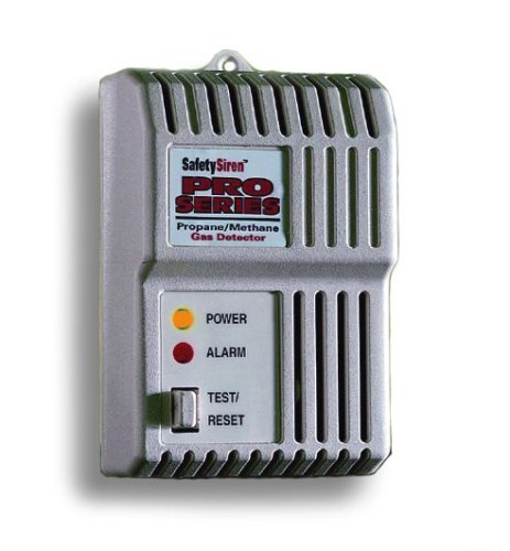 Family Safety Products 8910012 Safety Siren Combustible Gas (Propane Methane) Detector photo